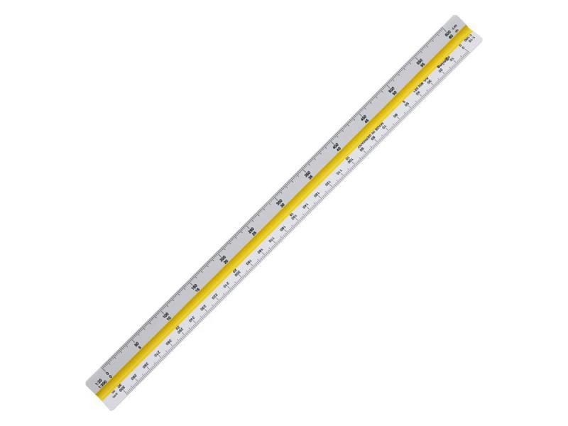 Линейка Rotring Centro School трехгранная шкала длина 30см S0220561 набор rotring centro 2 угольника 45° длина 36 см 30° 60° длина 41 см прозрачный пластик s0237900
