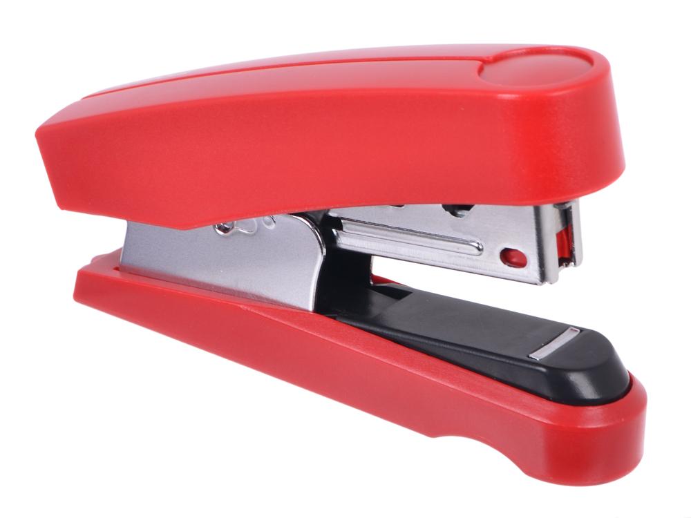 Степлер Novus B10FC Flat-Clinch до 20 листов скобы №10 красный 020-2204 от OLDI