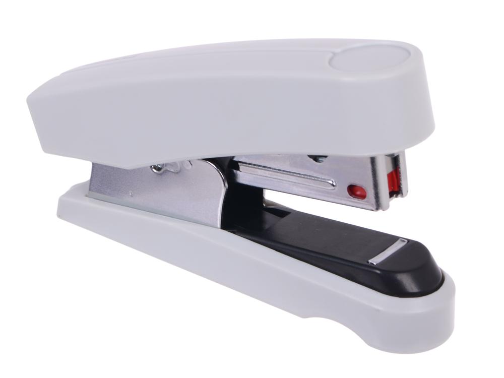 Степлер Novus B10FC Flat-Clinch до 20 листов скобы №10 серый 020-2203 от OLDI