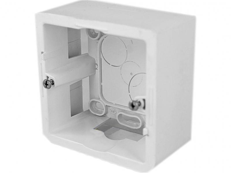 Монтажная коробка Legrand Mosaic 2 модуля глубина 40мм для суппорта 802 51 белый 80281 монтажная коробка legrand plexo 1 пост белый 69689