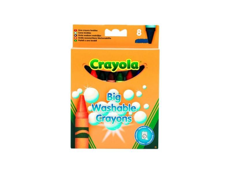 Восковые мелки Crayola 0878 8 штук 8 цветов от 1 года