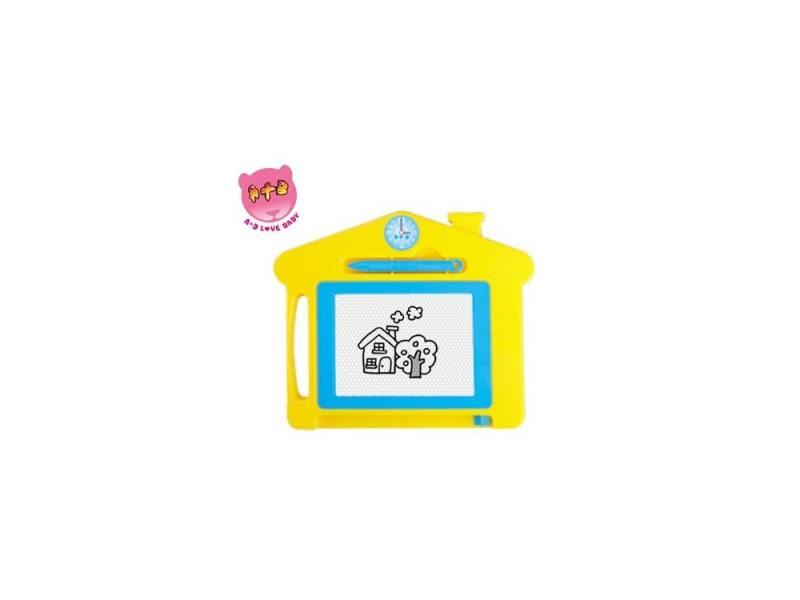 Доска для рисования Домик цветная Shantou Gepai 63463 двусторонняя доска для рисования shantou gepai literacy tablet
