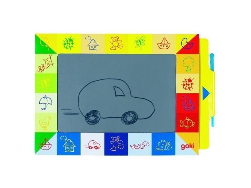 Goki Волшебный экран 58653 retro protective pu pc flip open case w stand auto sleep case for ipad air black brown grey