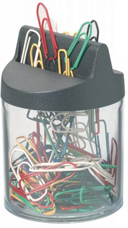 Скрепочница Durable магнитная 125 цветных скрепок 124000 цена и фото