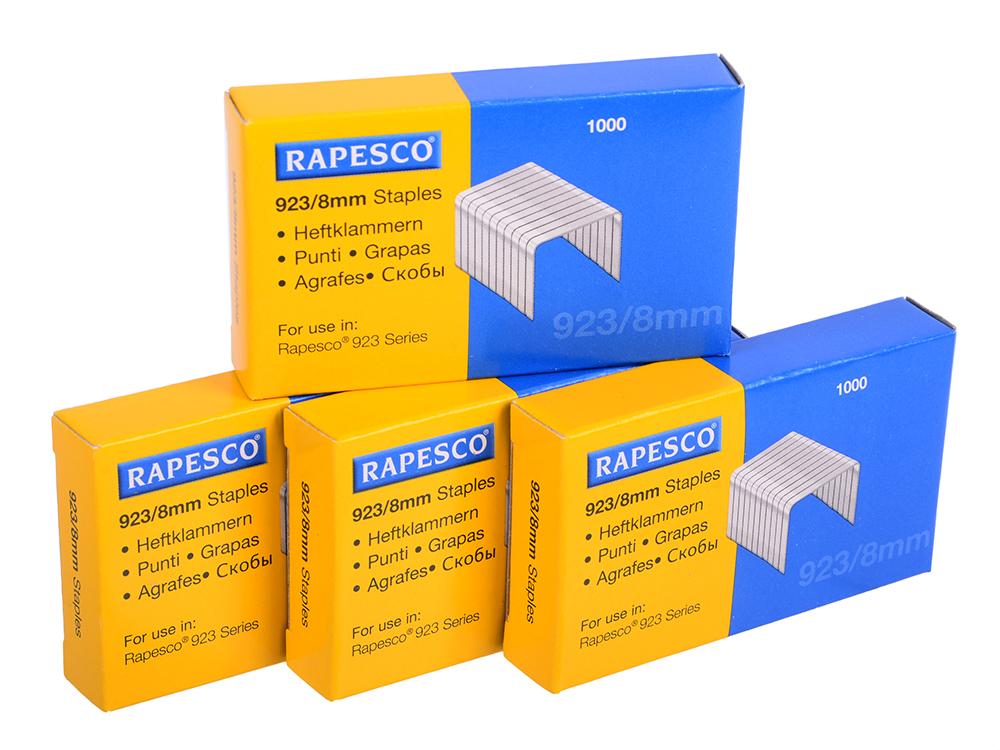 Скобы Rapesco 23/8 4000шт S92308Z3 rapesco office scissors sc0265s1 10 250