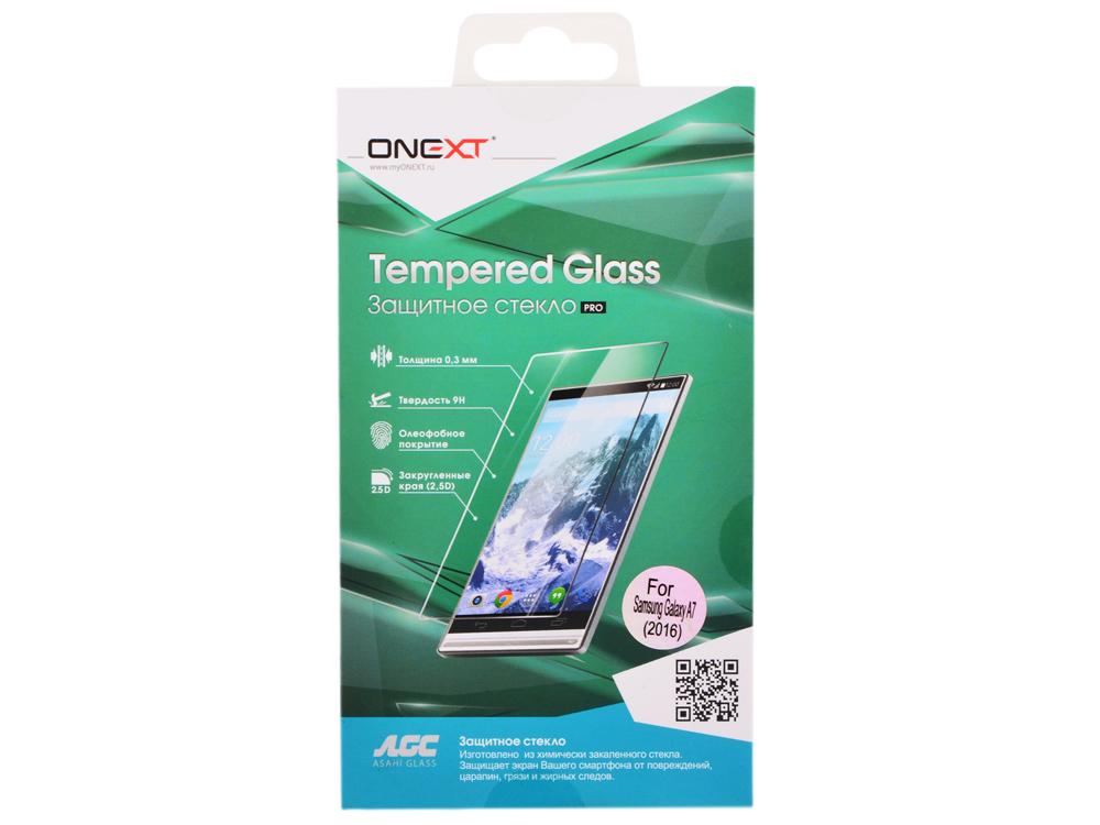 Защитное стекло Onext для телефона Samsung Galaxy A7 2016