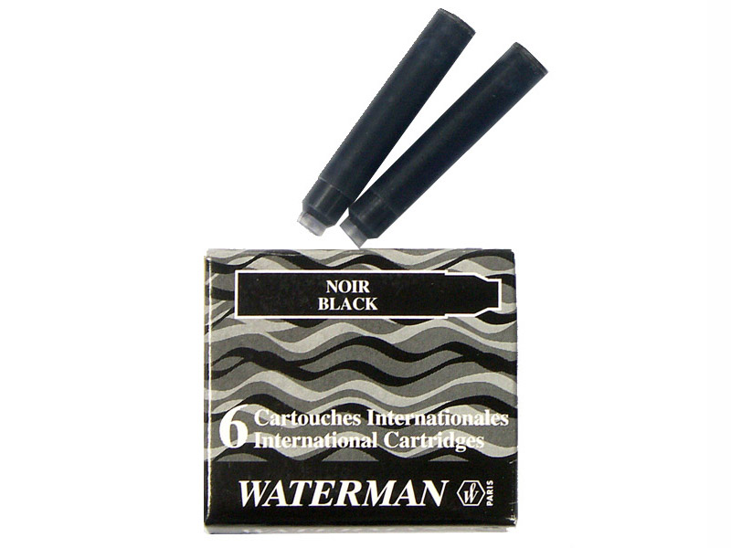 Картридж Waterman International Cartridge черный 52011 6шт S0110940 ручка waterman s0952360