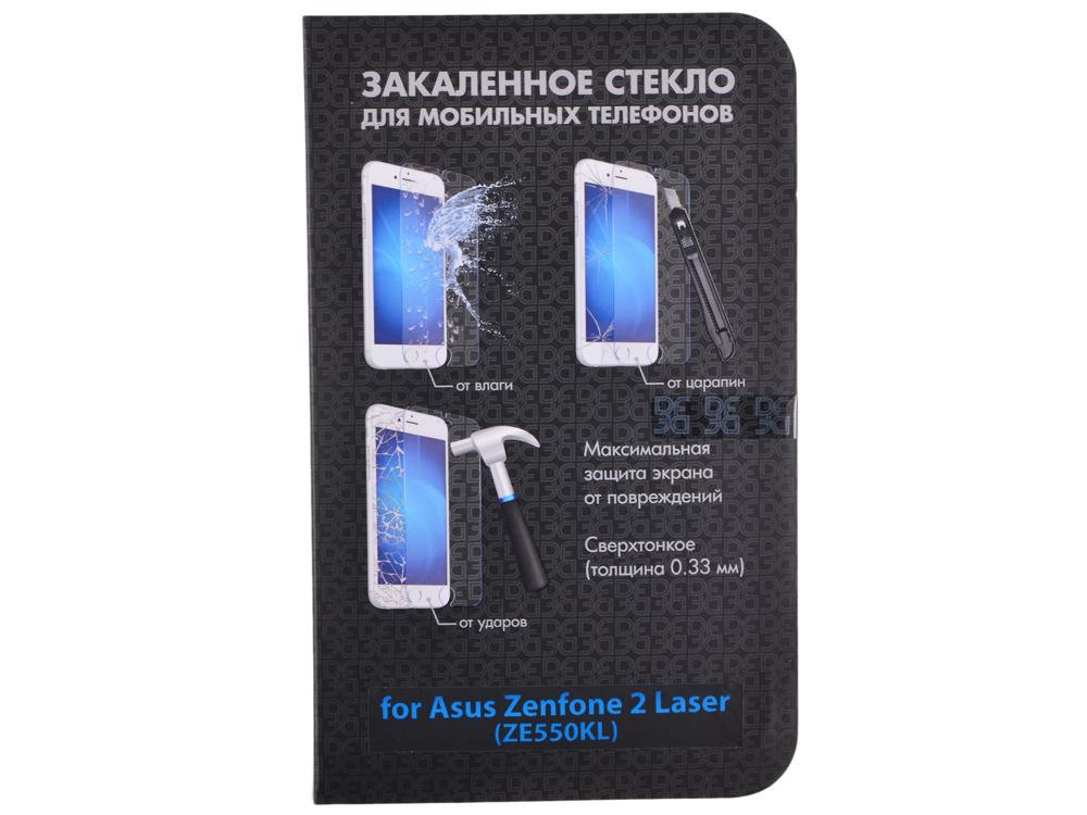 Закаленное стекло для Asus Zenfone 2 Laser (ZE550KL) DF aSteel-20
