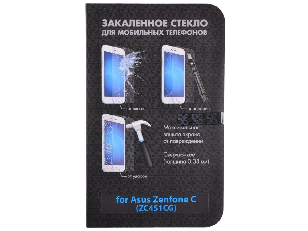 Закаленное стекло для Asus Zenfone C (ZC451CG) DF aSteel-16 защитное стекло df для asus zenfone zoom zx550 zx551ml asteel 23
