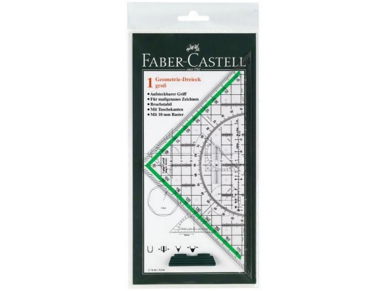 Треугольник многофункциональный Faber-Castell Тека 227x114x2.2мм 177090