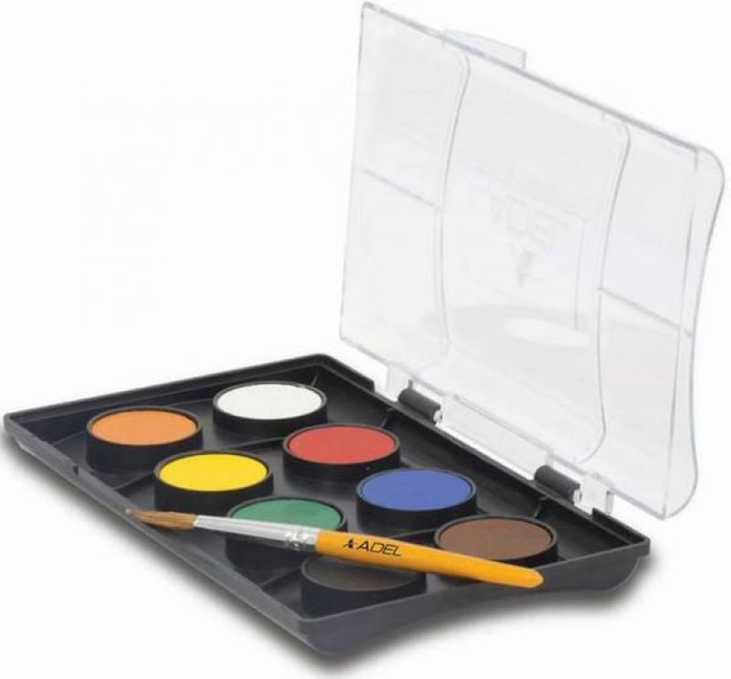 Краски акварельные Adel ADELAND 24мм 8 цветов 229-0934-100 lamtop 100