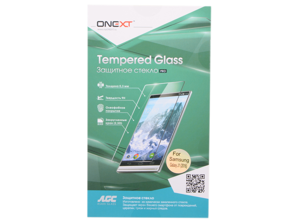 Защитное стекло Onext для телефона Samsung Galaxy J1 2016