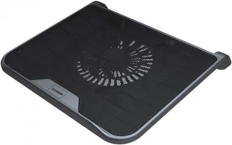 """Теплоотводящая подставка под ноутбук Xilence M300 (COO-XPLP-M300) 15""""/1x140mm FAN/Metal+Plastic/Black"""
