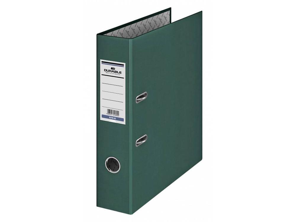 Папка-регистратор Esselte Rainbow А4 50мм картон зеленый 17922P папка регистратор esselte economy 10782p a4 75мм желтый