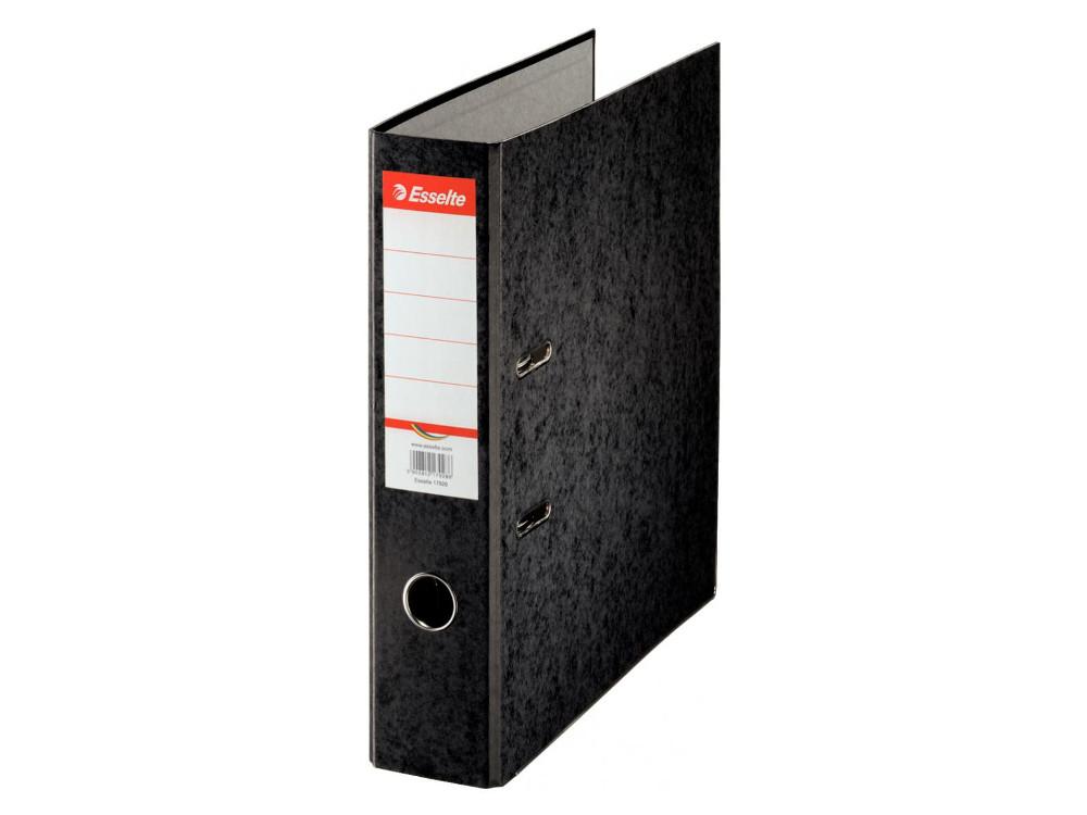 Папка-регистратор Esselte Rainbow А4 75мм картон черный 17929P staff папка регистратор цвет черный 224615