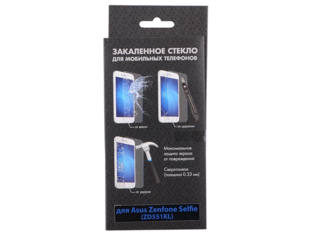 Закаленное стекло для Asus Zenfone Selfie (ZD551 KL) DF aSteel-12
