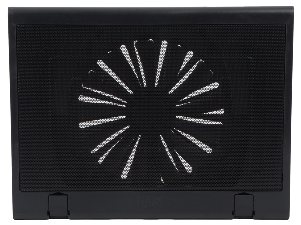 "Теплоотводящая подставка под ноутбук DeepCool Windwheel FS BLACK (до15.6"", вентилятор 200мм, черный, 2USB)"