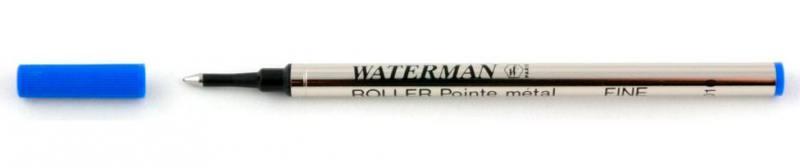 Стержень для роллера Waterman Refill RB F чернила синие 1964018 ручка waterman s0952360