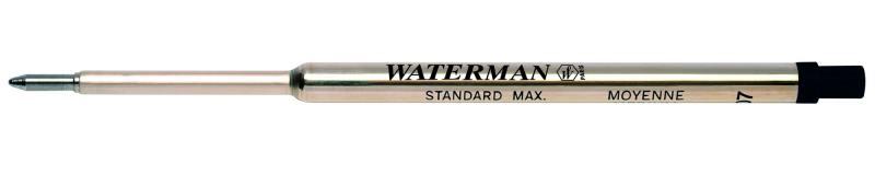 Стержень для шариковых ручек Waterman Refill BP Standard Maxima F чернила черные 1964017 стержень шариковый waterman standard maxima s0791020 m синие чернила