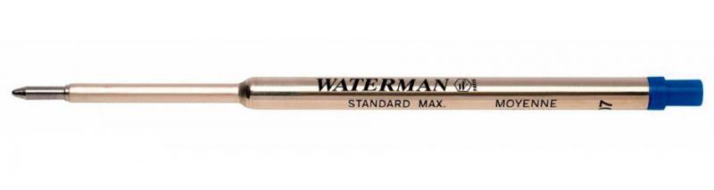 Стержень для шариковых ручек Waterman Refill BP Standard Maxima F чернила синие 1964016