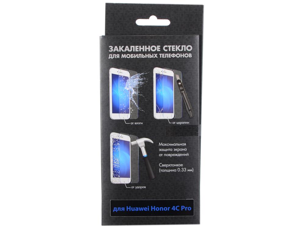 все цены на  Закаленное стекло для Huawei Honor 4C Pro DF hwSteel-11  онлайн