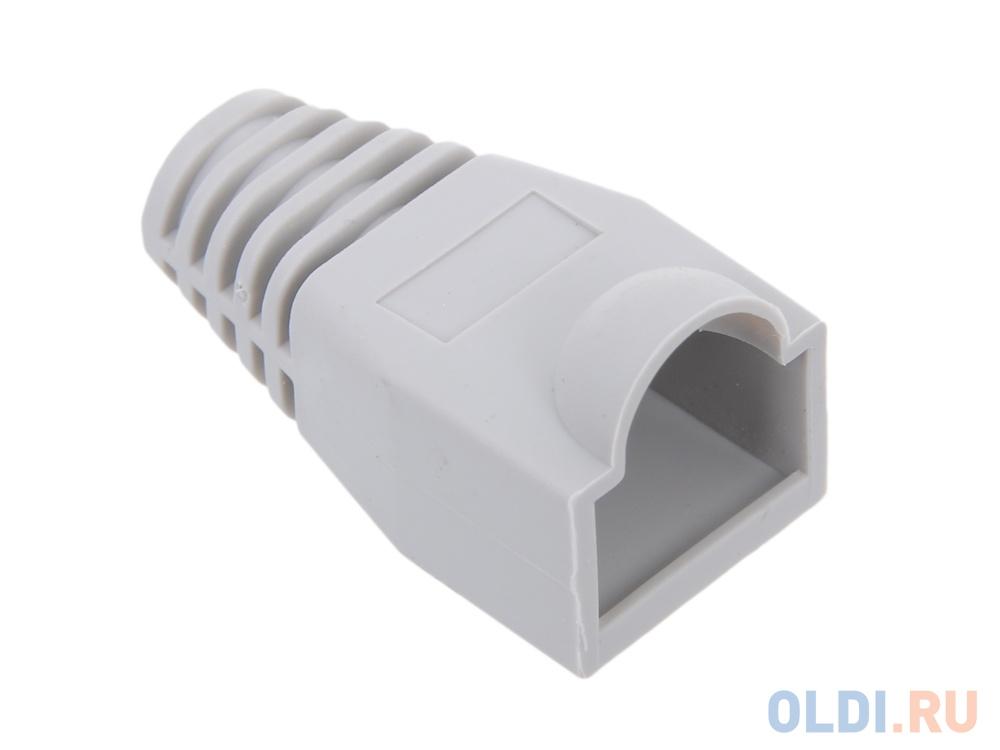 Колпачок пластиковый для вилки RJ-45, серый VCOM (VNA2204-G)