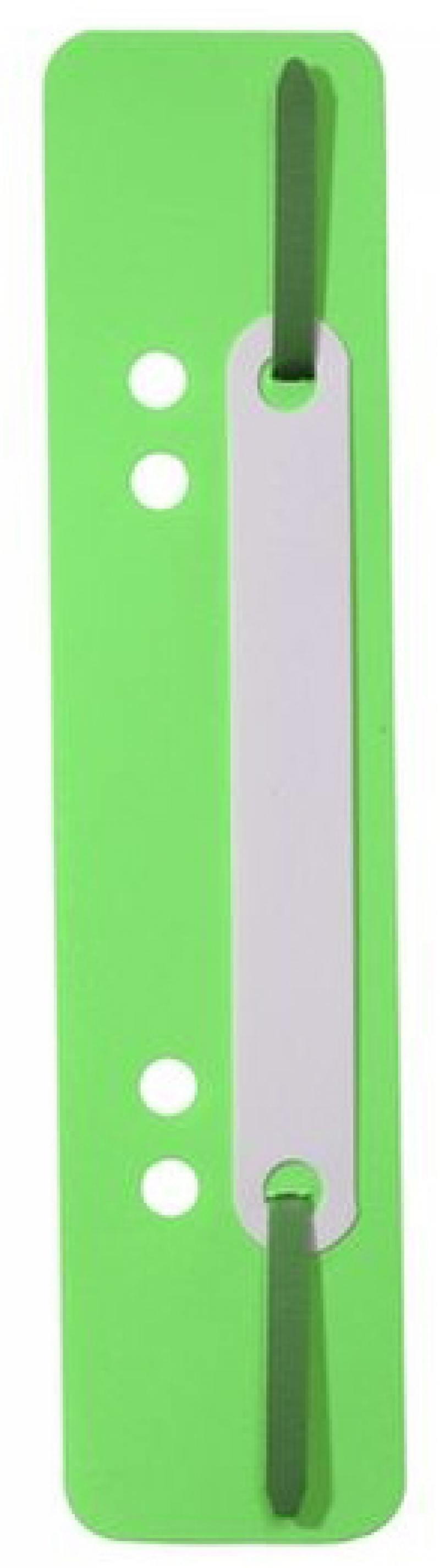 Скоросшиватель Durable вставка зеленый 250шт 690105