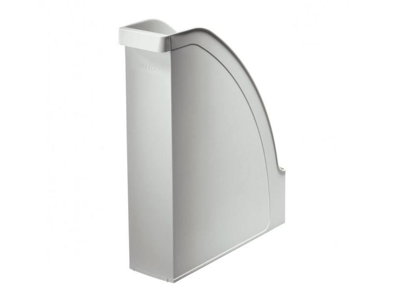 Лоток вертикальный Leitz Plus серый 24760085