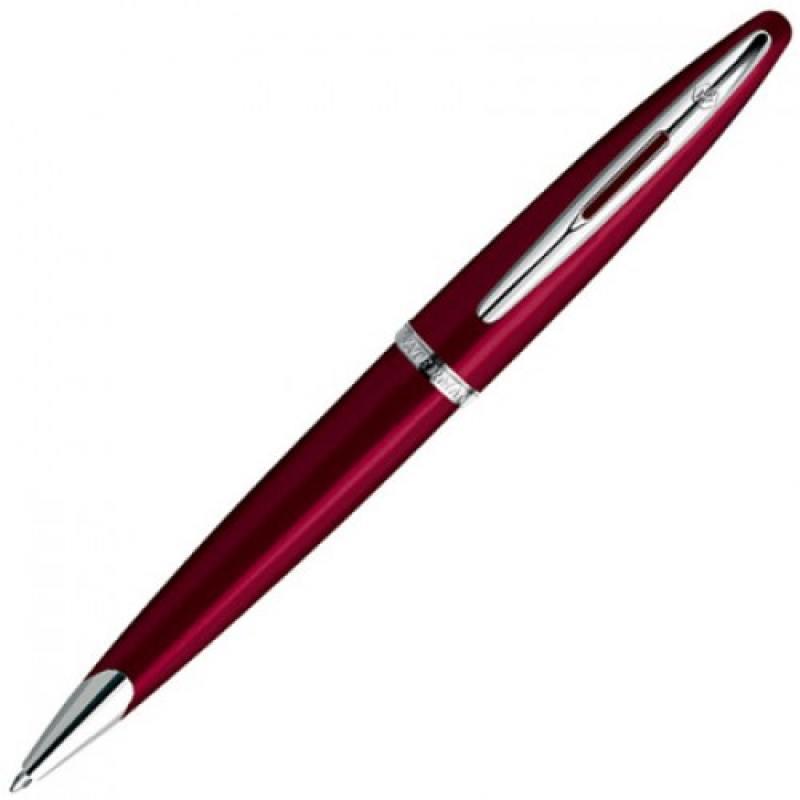 Шариковая ручка Waterman Carene чернила синие корпус красный S0839620 босоножки 823 2015