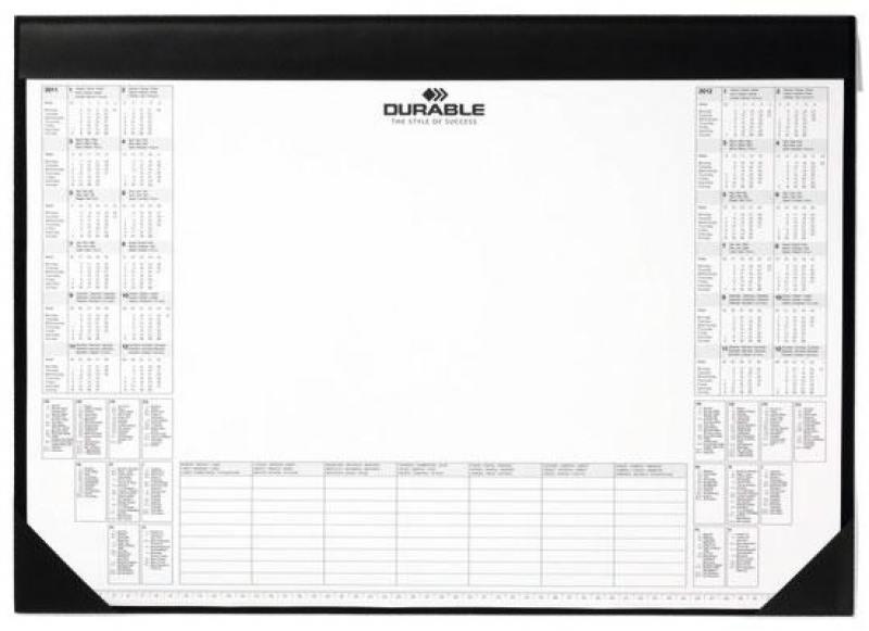 цена на Настольное покрытие Durable 59х42см черный 7291-01