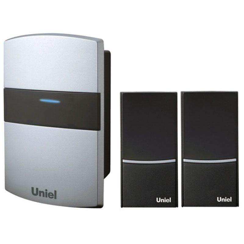 цены Звонок беспроводной (02242) Uniel UDB-004W-R1T2-32S-100M-SL