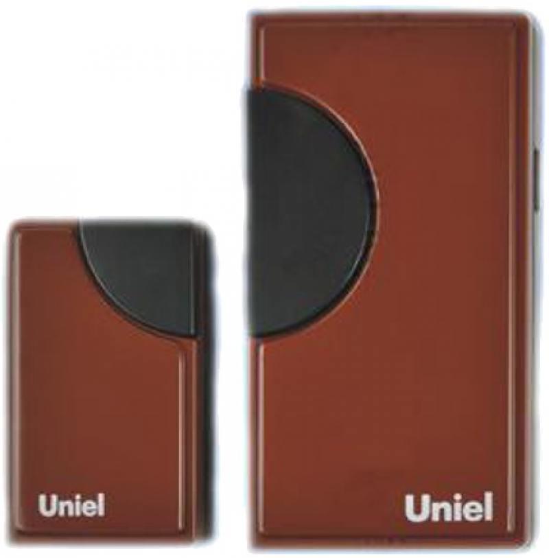 все цены на Звонок беспроводной (03608) Uniel UDB-002W-R1T1-32S-100M-RD онлайн