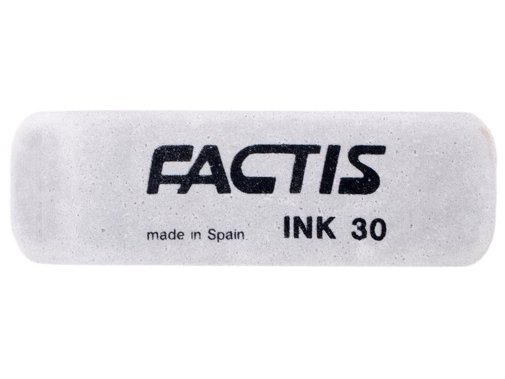 все цены на Ластик FACTIS для чернил из натурального каучука, размер 58х20х10 мм онлайн