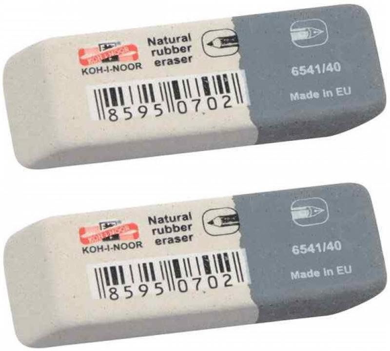 Набор ластиков SUNPEARL, 2 шт., в блистерной упаковке silwerhof набор ластиков кексы 2 шт 181127