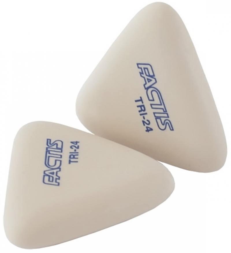 все цены на Ластики FACTIS мягкие, треугольные из синтетического каучука, 2 шт. в наборе, блистер онлайн