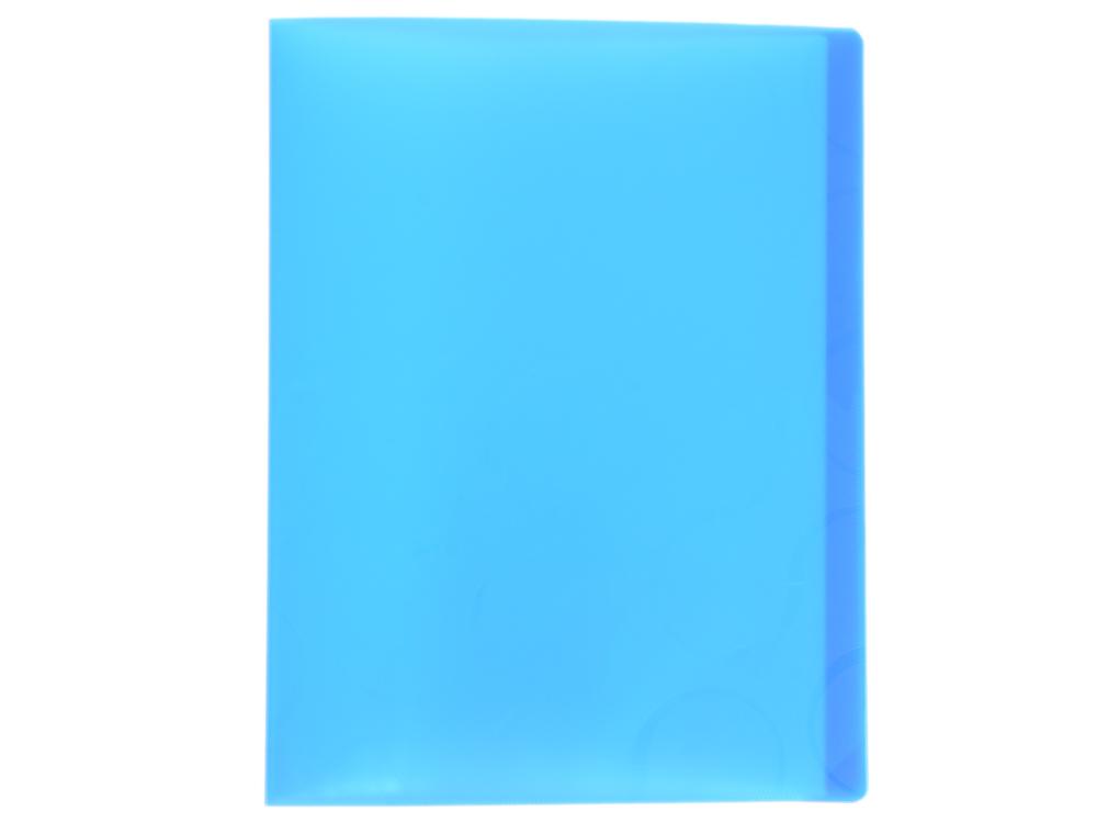 Папка с файлами OMEGA, 40 файлов, цвет синий, материал полипропилен, плотность 450 мкр папка с файлами omega 20 файлов цвет красныйй материал полипропилен плотность 450 мкр