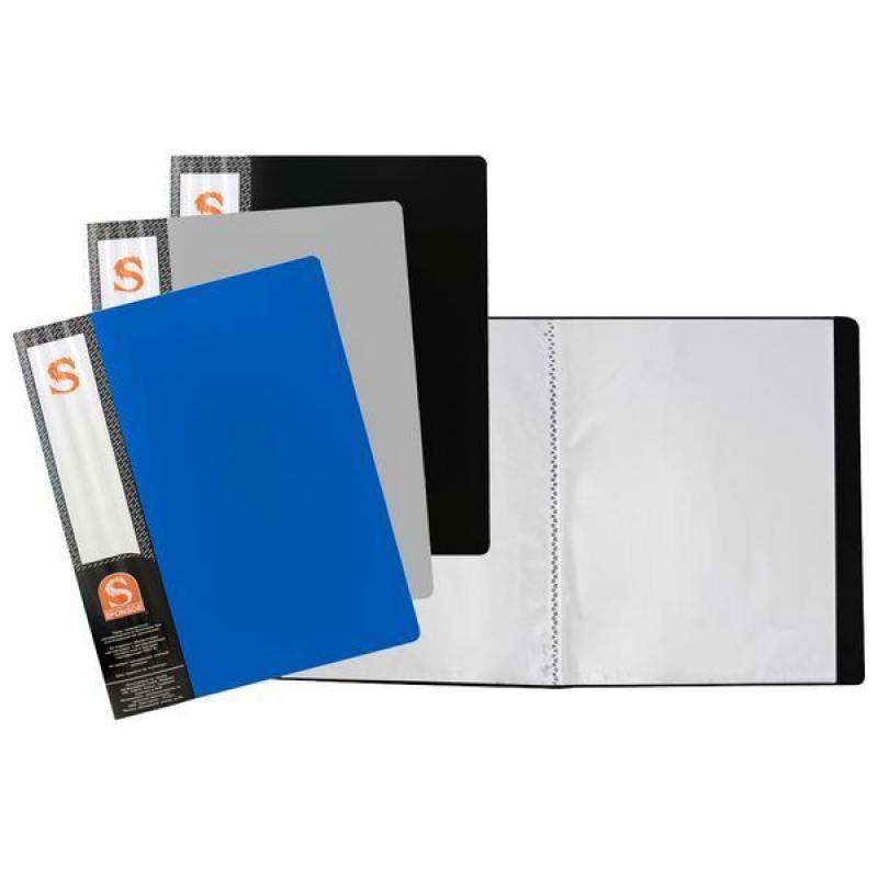 Папка с 10 файлами, форзац, ф.А4, ассорти