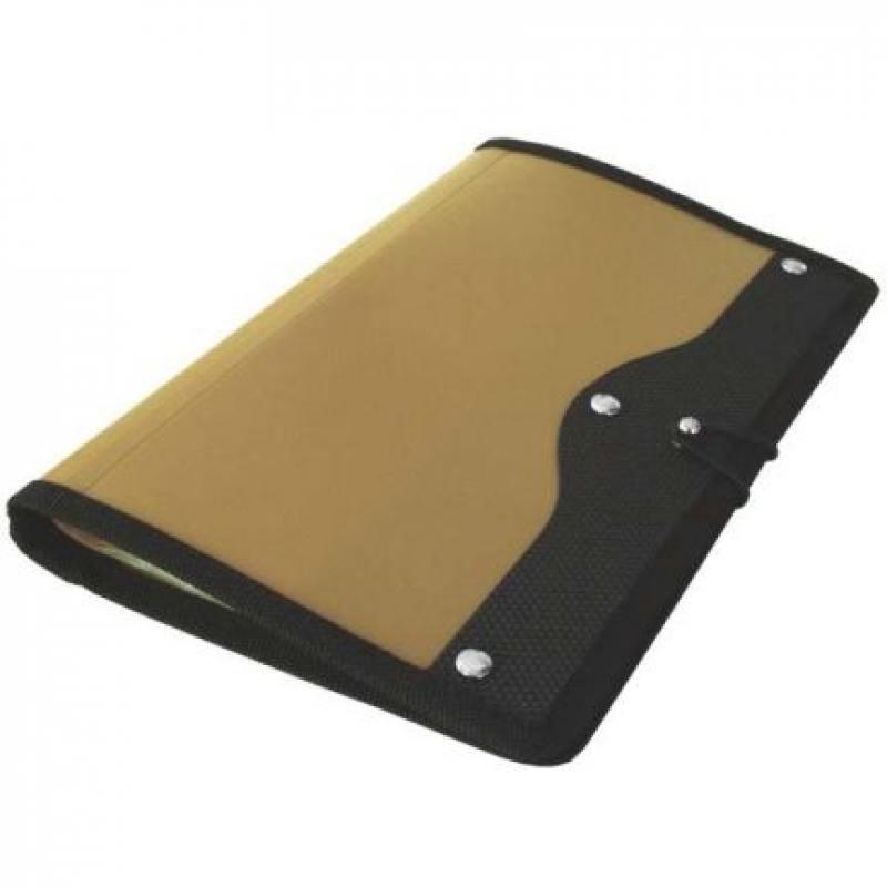 Визитница настольная на резинке, блок 120 визиток, 230х140 мм, пластик, золотая точилка index ish001 пластик ассорти