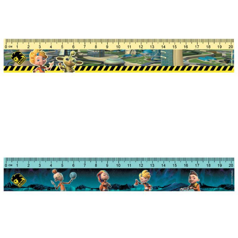 Линейка ACTION! АЛИСА, пластиковая, с рисунком, 20см, пакет c е/п, 2 диз. rubineta star p 12 c 20см