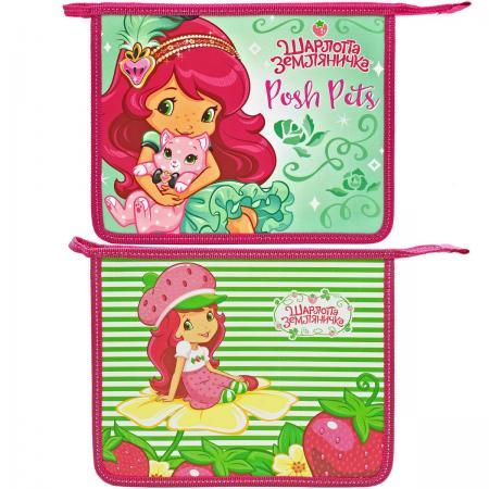 Папка для тетрадей на молнии ACTION! STRAWBERRY SHORTCAKE strawberry print pencil case
