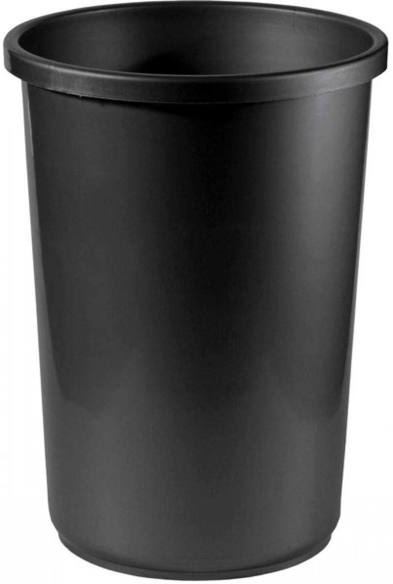 Корзина для бумаг, цельнолитая, чёрная, 12 литров eugenia kim берет