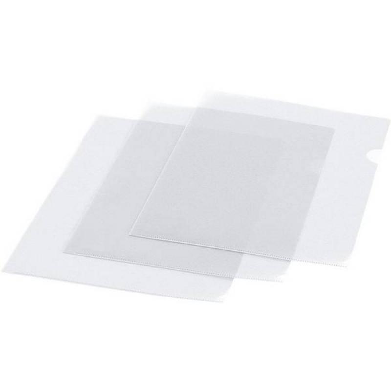Папка-уголок, ф. А4, прозрачная, материал ПВХ, плотность 150 мкр., цена за 1 шт. папка уголок a4 прозрачная 3 шт 47280003