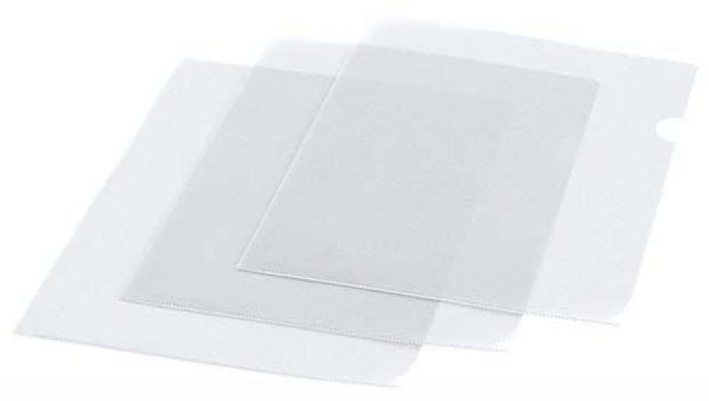 Карман для хранения документов, ф,А5, прозрачный, материал ПВХ, плотность 150 мкр, 25 шт в упаковке