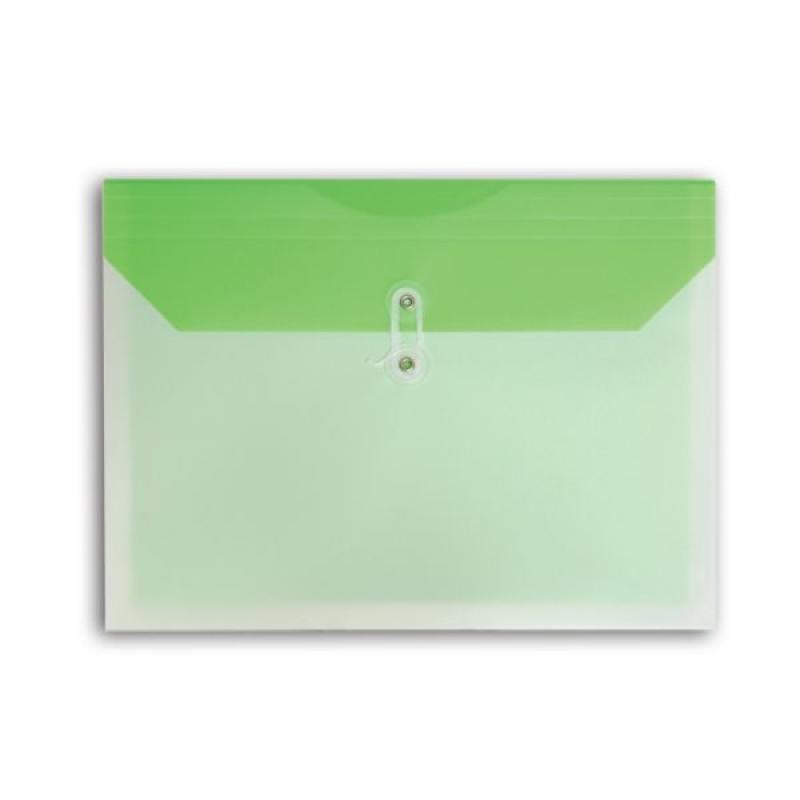 цена на Папка-конверт COLOURPLAY, на завязках, 0.18мм, ассорти 5 цветов