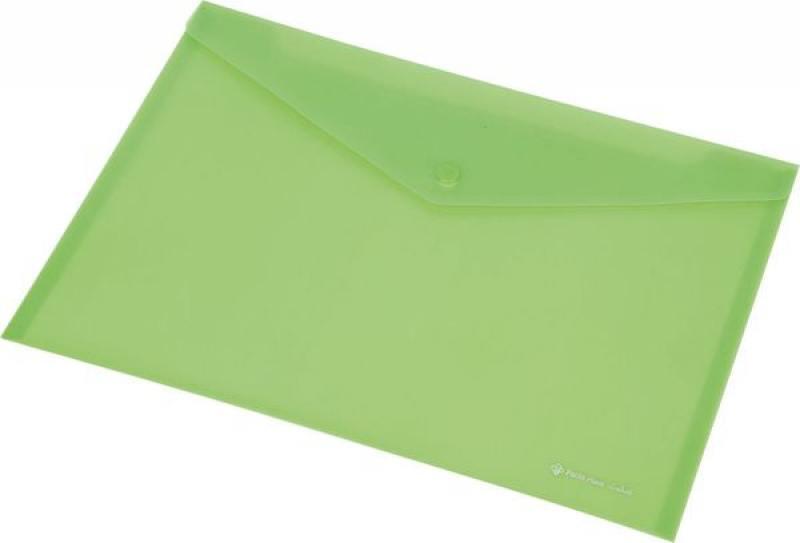 Папка-конверт на кнопке FOCUS, ф. А4,вместител.120 листов, PP,160 мкр, зеленый механизм сливной alca plast a08
