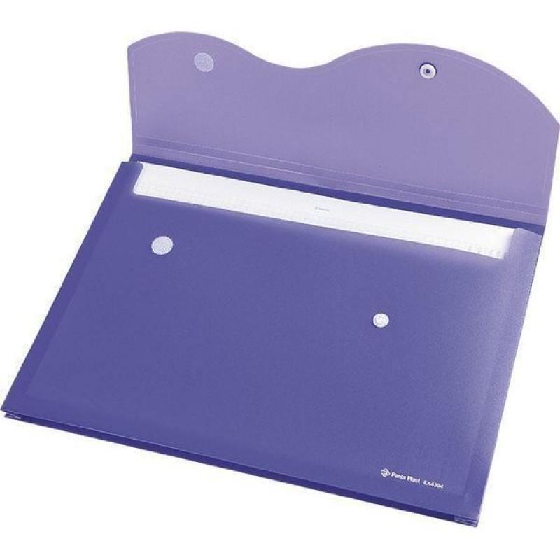 Папка на кнопке и липучке на 200 листов, ф. A4, цвет фиолетовый, материал полипропилен папка на кнопке comix цвет фиолетовый