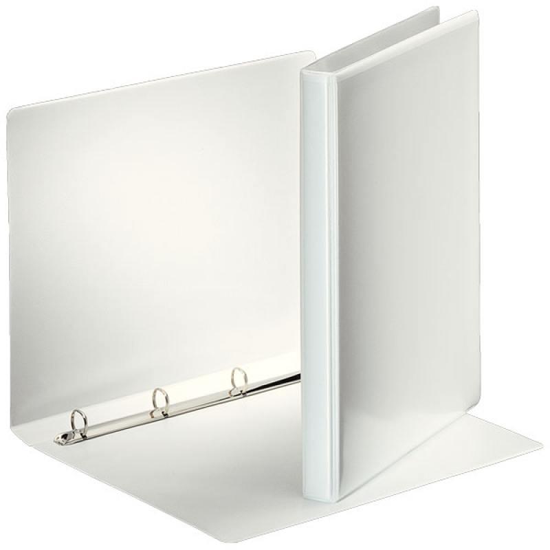 Папка на 4 кольцах ESSELTE ПАНОРАМА,30 мм, D 16мм, белая папка esselte на 4х кольцах