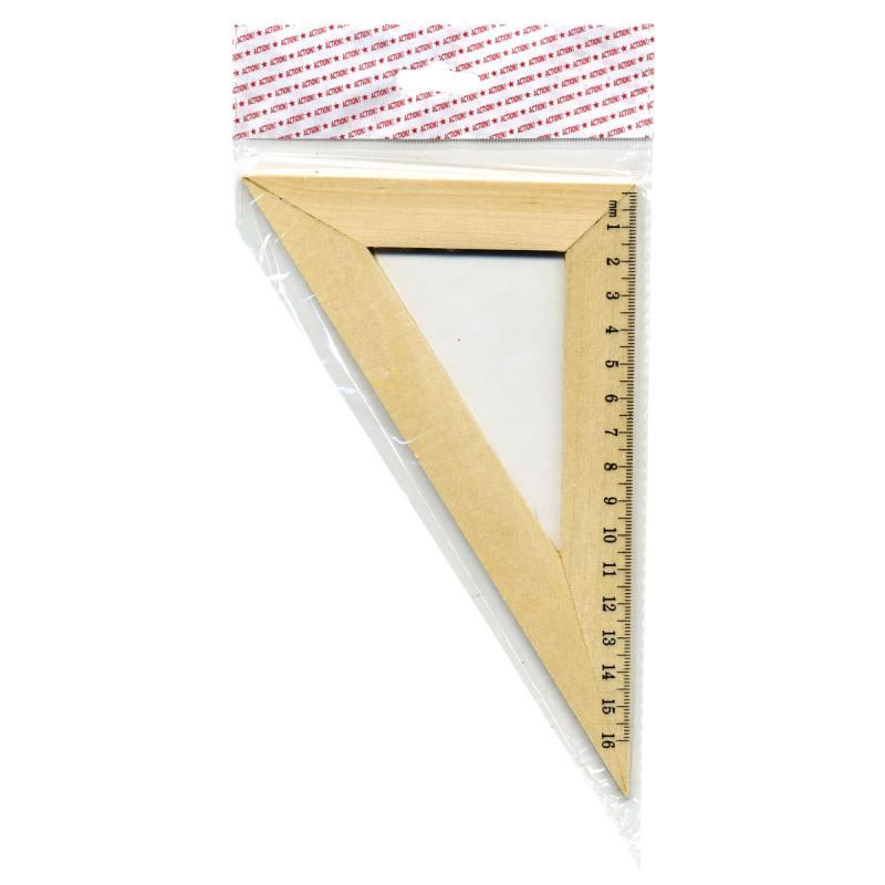 Треугольник 30*, длина 16см, деревянный, в инд.пакете с европодвесом набор свечей фейрверк искрящиеся 16см 24шт
