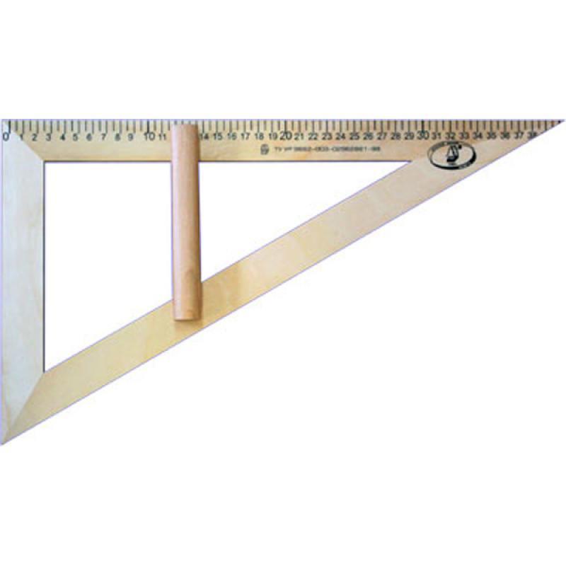 Треугольник классный, со штрихкодом красная звезда треугольник 45 градусов 11 см