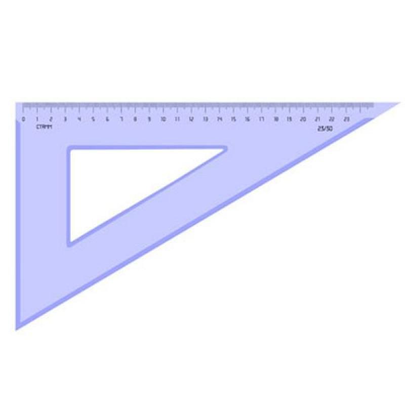 Треугольник 30*, 23 см, тонированный